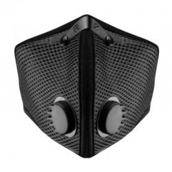 RZ mask Mesh M2 BLACK smog mask - czarna