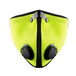 RZ mask Mesh M2 SAFETY GREEN - smog mask - seledynowa