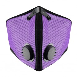 RZ mask Mesh M2 PURPLE - smog mask - fioletowa