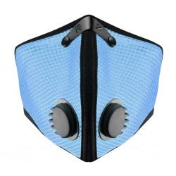 RZ mask Mesh M2 SKY - smog mask - niebieska