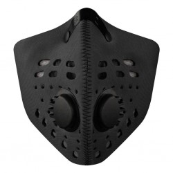 RZ mask neopren M1 BLACK smog mask - czarna M1 BLACK
